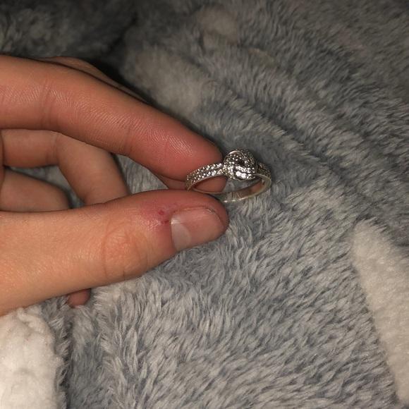 pandora rope knot ring